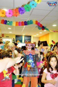 Animación infantil para fiestas en Valladolid a domicilio
