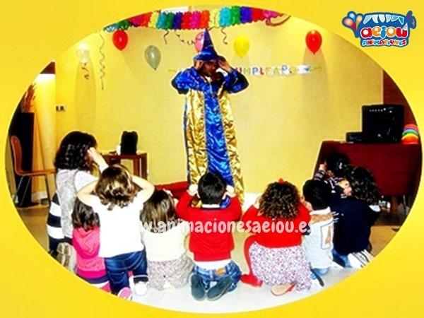 Contratar magos a domicilio en Valladolid