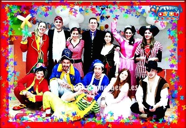 Fiestas infantiles en Valladolid