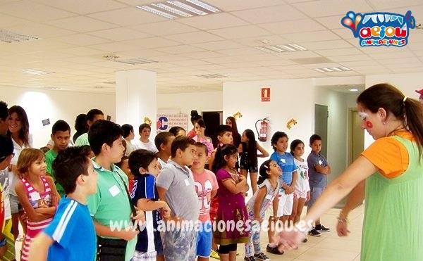 Animación infantil para comuniones en Valladolid