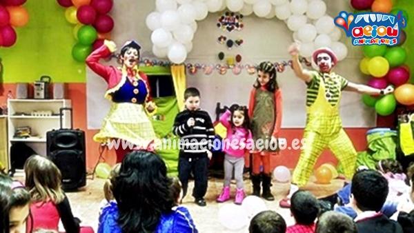 Animadores para fiestas infantiles de cumpleaños a domicilio en Valladolid
