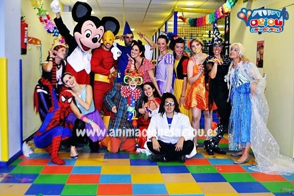 Fiestas infantiles de Princesas en Valladolid