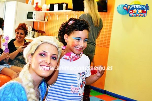 Fiestas temáticas de Princesas en Valladolid