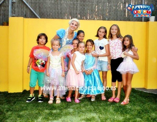 Las mejores Animaciones para fiestas Frozen en Valladolid