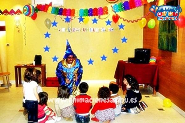 Magos para fiestas de cumpleaños infantiles en Valladolid