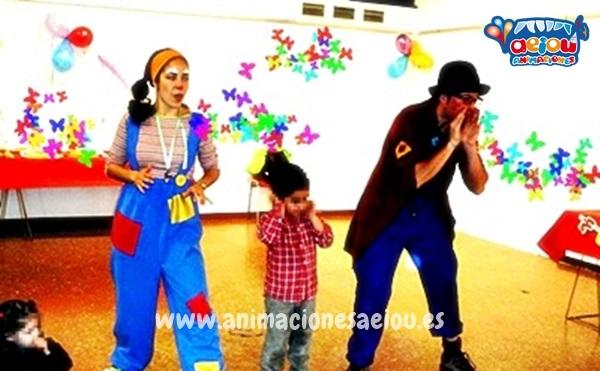 Payasos para cumpleaños infantiles en Valladolid