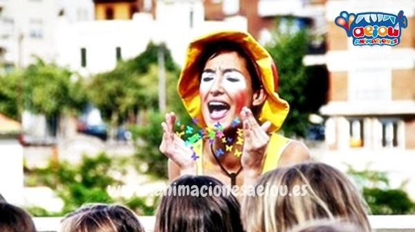 Payasos para fiestas de niños en Valladolid