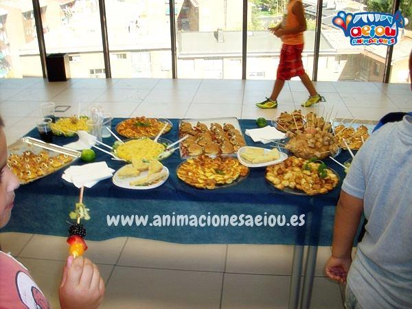 Menú de cumpleaños infantil en Valladolid