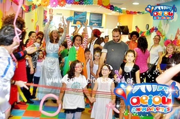 animaciones para fiestas de cumpleaños infantiles y comuniones enLeón