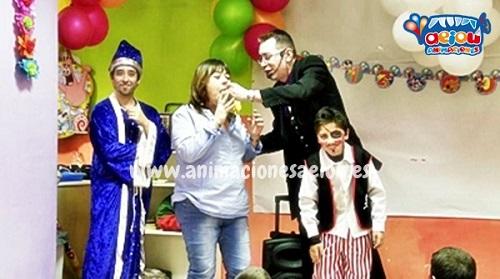 animaciones para fiestas de cumpleaños infantiles y comuniones en Peñafiel